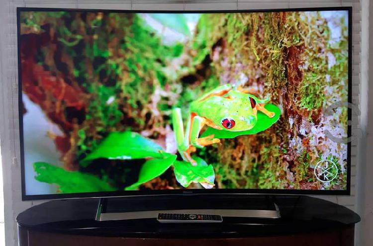 Tv hisense smart tv curvo 60