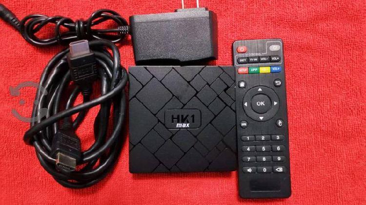 Tv box hk1 max, android 8.1 4gb ram 32gb rom wifi