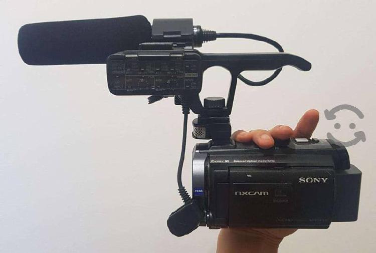 Videocámara profesional nx30n ultraligera