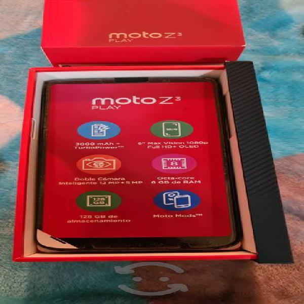 Moto z play 3 com moto mods