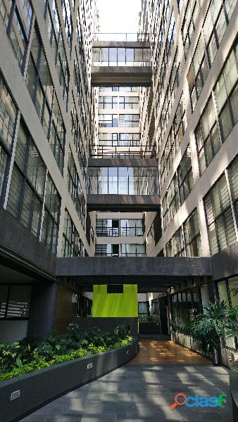 Iluminado depto en 5° piso listo para habitar cerca Liverpool Insurgentes