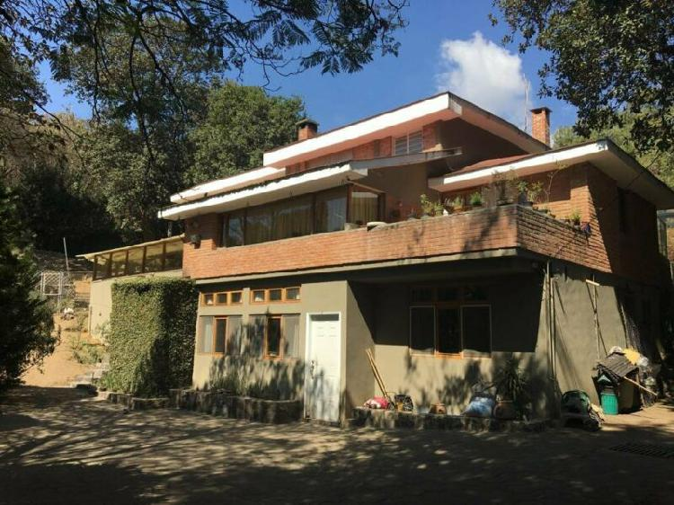 Casa rustica en venta en tlalpan