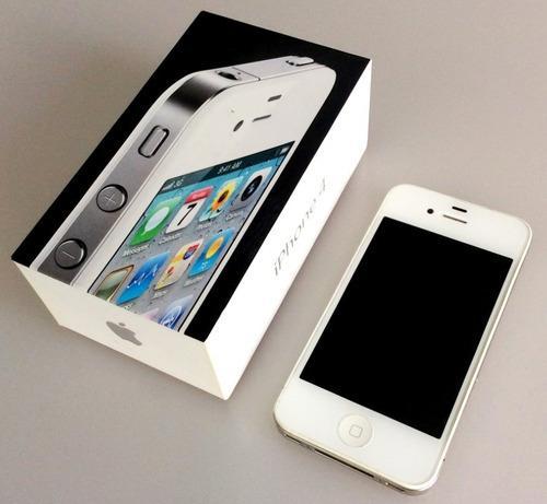 Celular iphone 4 white 32 gb telcel, bateria se descarga