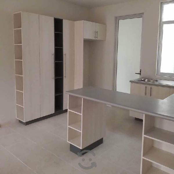Closets cocinas y muebles minimalistas