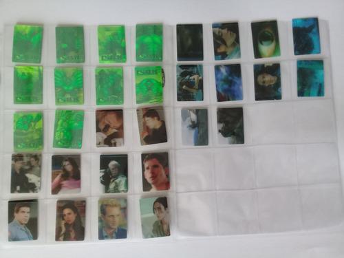 Colección completa de 30 tarjetas hulk marínela