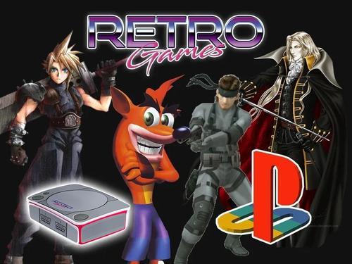 Mini consola con juegos de playstation ps1 retromex