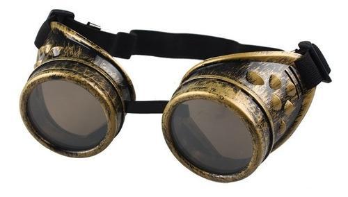 Steampunk vintage cyber gafas punk gótico gafas sol unisex