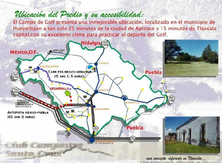 Vende terreno hacienda proyecto en tlaxcala 116 hectareas