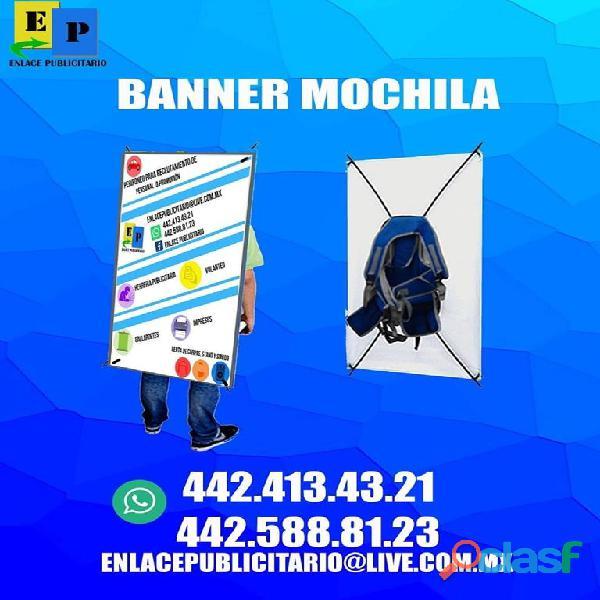 Banner Mochila en Queretaro