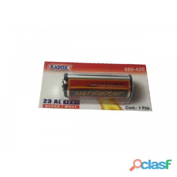 Pila 23a 12 Volts Para Control 660 420 Marca Radox