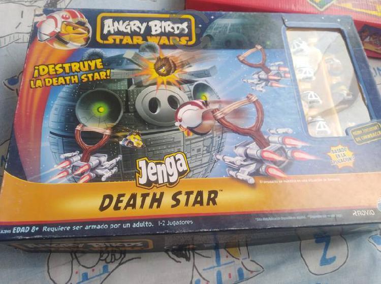Angry birds star wars jenga death starwars