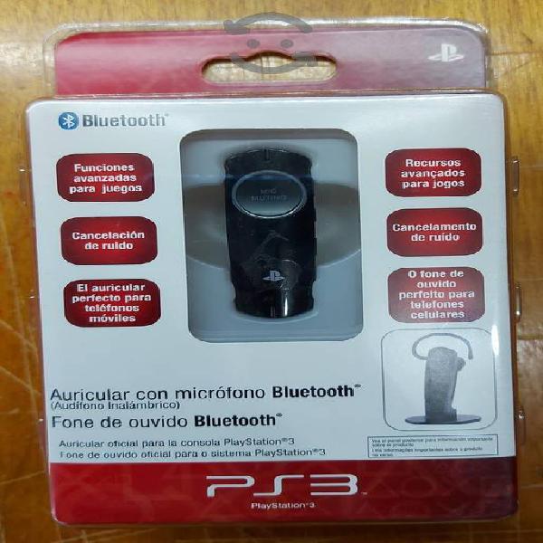Auricular bluetooth para playstation 3