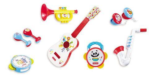 Banda musical 9 pzs, fisher price