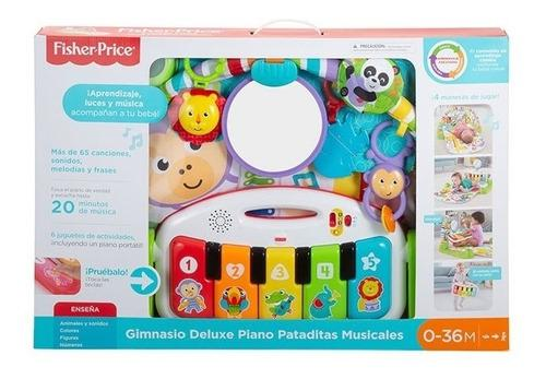 Fisher price deluxe pataditas piano gimnasio musical fwt21