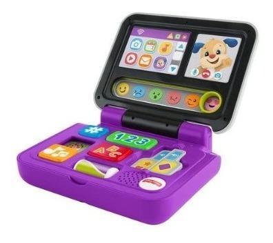 Fisher price juguete bebé laptop aprende conmigo 6-36m
