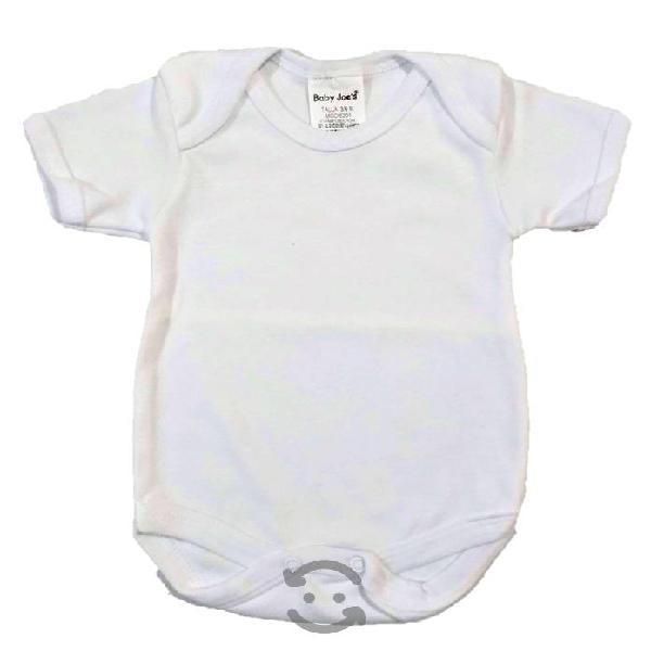 Jgo 2 pañaleros blanco baby joe's talla 3-12 meses