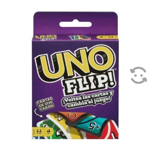 Juego de cartas mattel uno flip nuevo y sellado