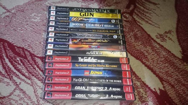 Juegos completos para playstation 2