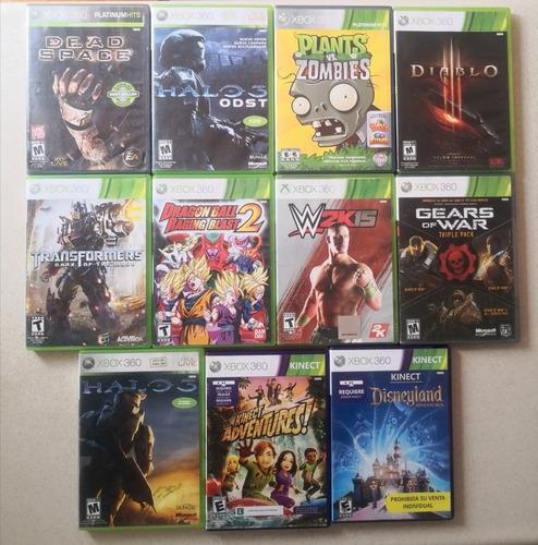 Lote de juegos xbox 360