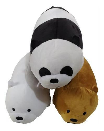 Peluche osos escandalosos panda polar pardo 3 osos paquete