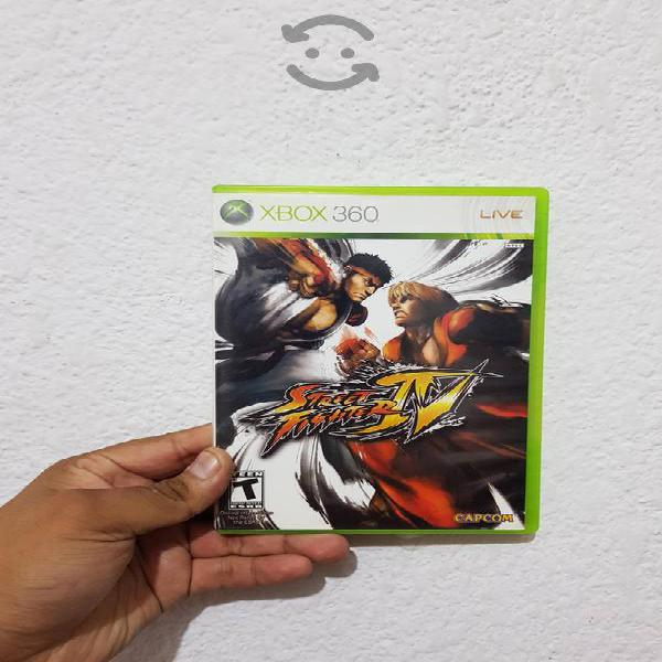 Street fighter iv xbox 360/one
