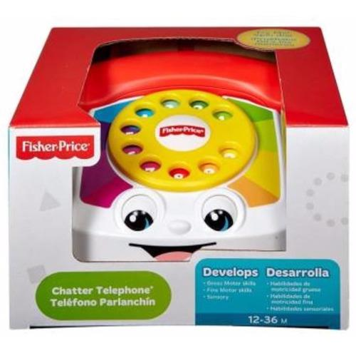 Teléfono parlanchín fisher price juguetes para bebes