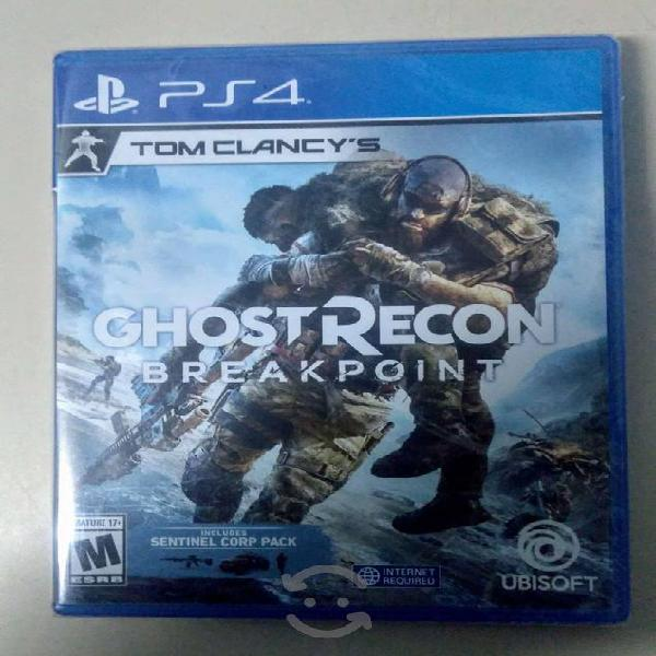 Tom clancy's ghost recon breakpoint ( ps4 ) nuevo