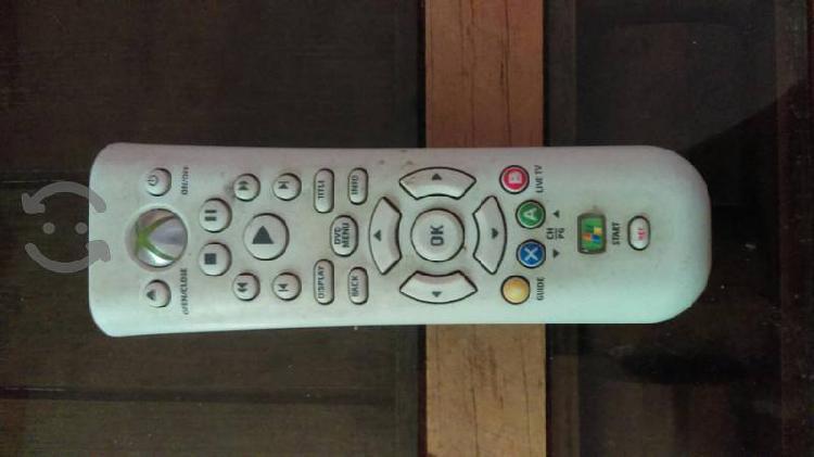Control xbox de audio y video