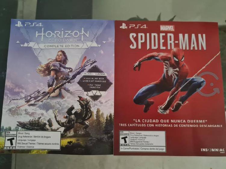 Dlc spider man y horizon zero dawn
