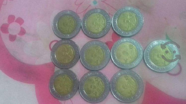 2 monedas especial 10 emiliano zapata