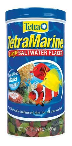 Alimento premium tetramarine flakes p/ peces marinos (160gr)