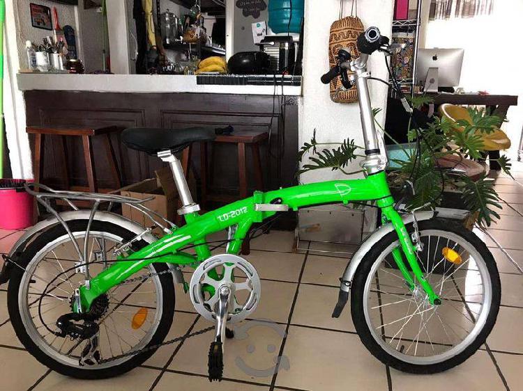 Bicicleta urbana plegable landao