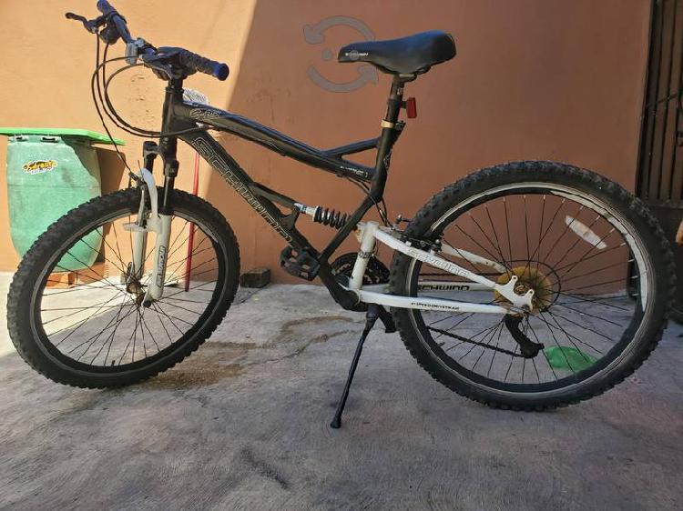 Bicicleta de montaña schwinn s-25 doble suspensión