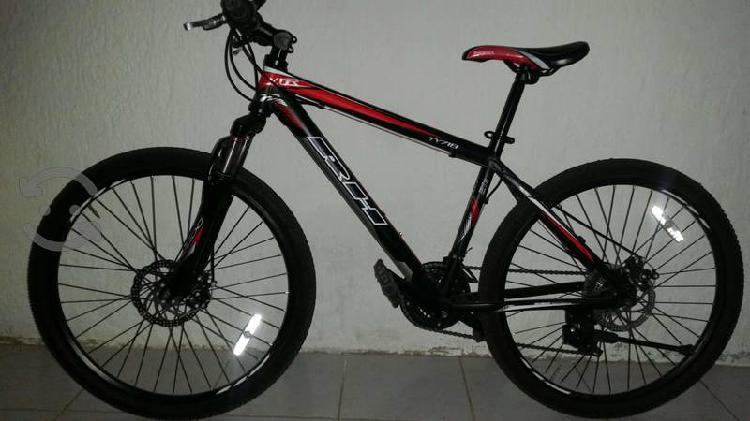 Bicicleta de montaña rh aluminio rod 26 seminueva