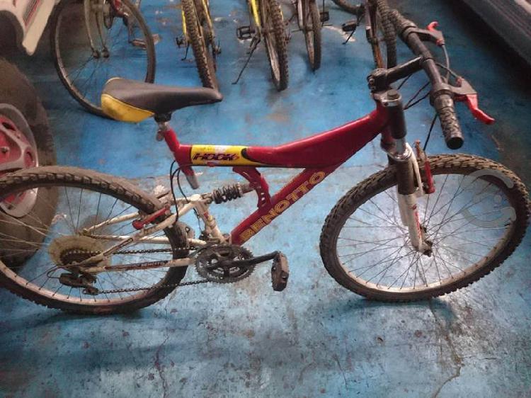 Bicicleta montaña usada