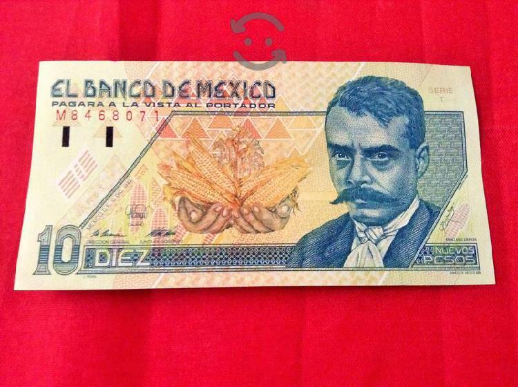 Billetes mexicanos antiguos de colección