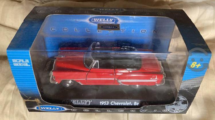 Chevrolet bel air 1953 marca welly