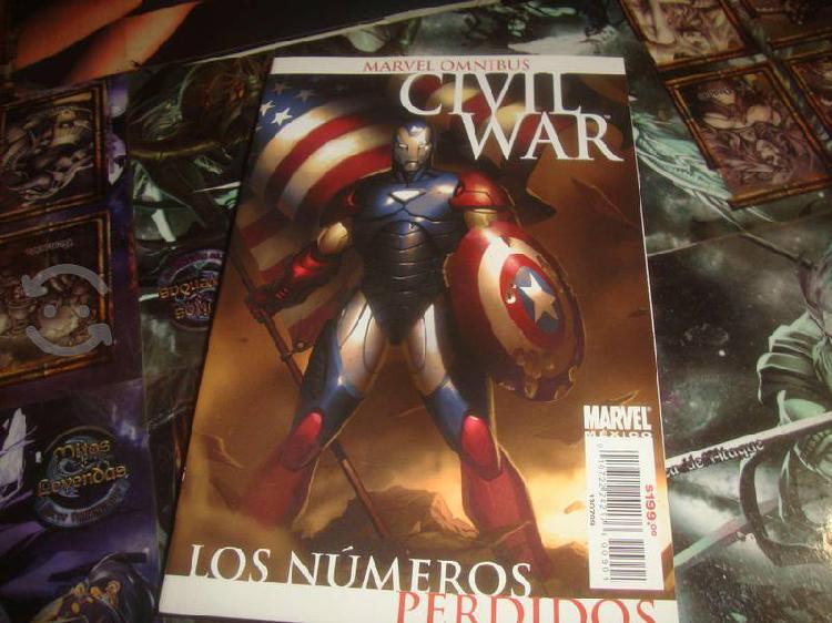 Civil war: los numeros perdidos