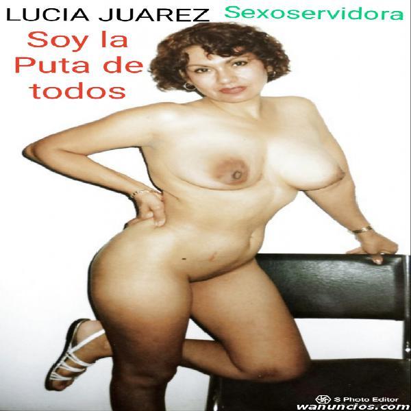LUCIA JUAREZ Cogelona, Mamadora de Vergas y exhibionista