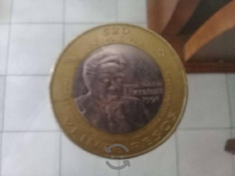 Monedas coleccionables de 20 pesos