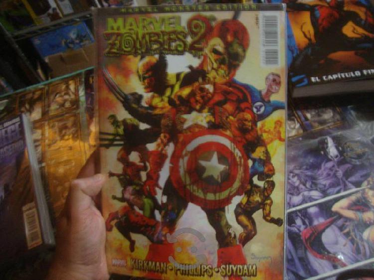 Marvel zombies 2 tomo especial mosnter edition
