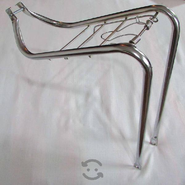Portabultos delantero para bicicleta