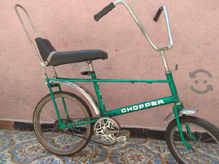 Raleigh chopper seminueva original r20 clásica