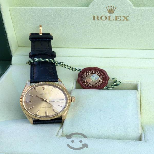 Reloj rolex oyster presidente oro sólido automatic