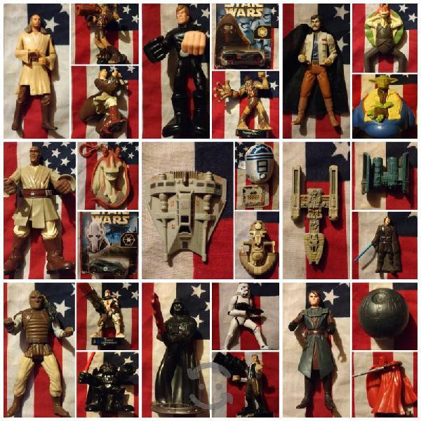 Star wars figuras y naves tal y como se ven fotos