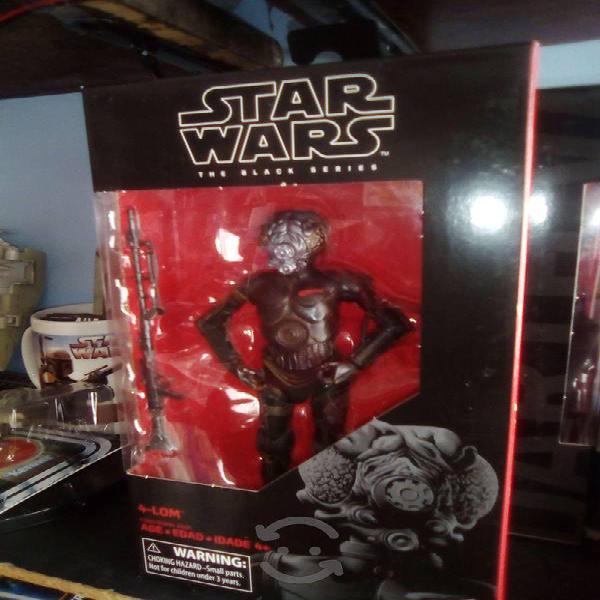 Star wars figura 4-lom the black series, 6 pulgada