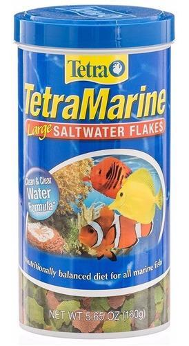Tetramarine large saltwater flakes 160g hecho en alemania