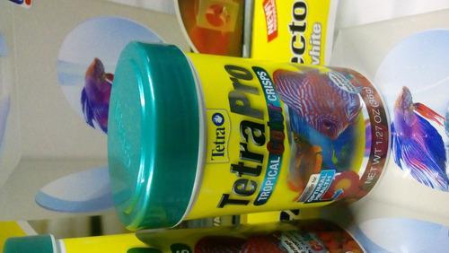 Tetrapro tropicalcolor crisps 36gr acuario alimento peces