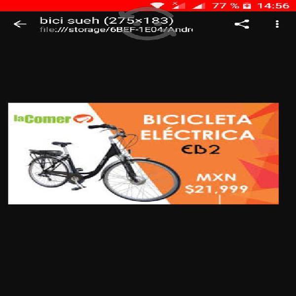 Bicicleta eléctrica r700x38. urge