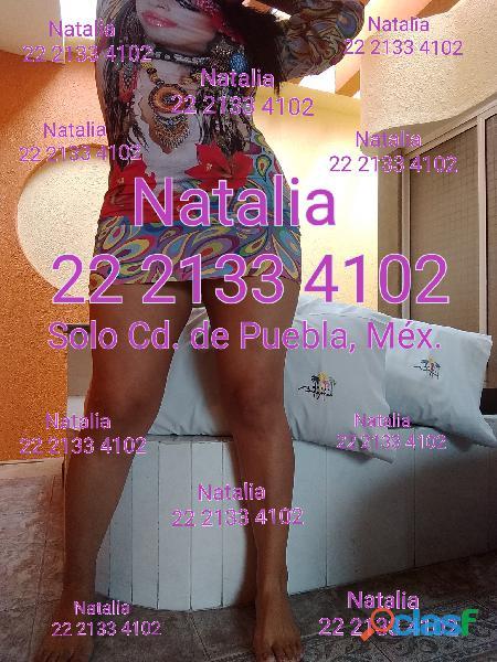 Natalia Fogosa Cuarentona Sensual Guapa Puebla